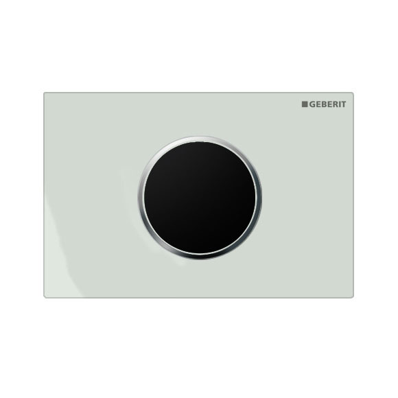 Geberit - Touchless Automatic Flush for UP320 Cistern - Sigma10 - White and Matt Chrome Large Image