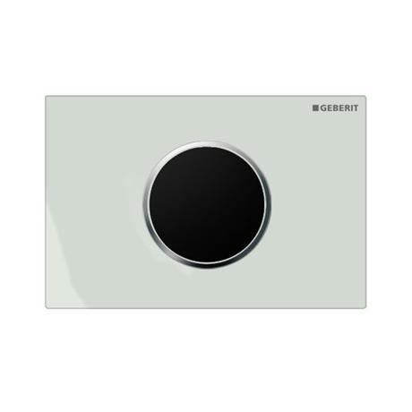 Geberit - Touchless Automatic Flush for UP320 Cistern - Sigma10 - White and Matt Chrome