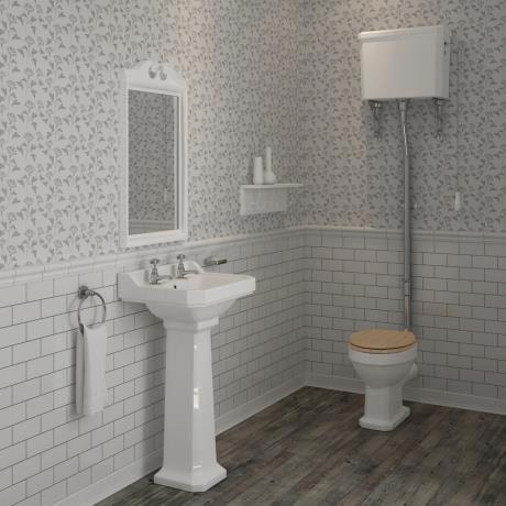 winchester high level toilet bathroom suite   victorian