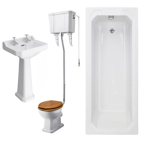 Winchester High Level Toilet Bathroom Suite