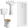 Winchester Traditional Bathroom Suite profile small image view 1