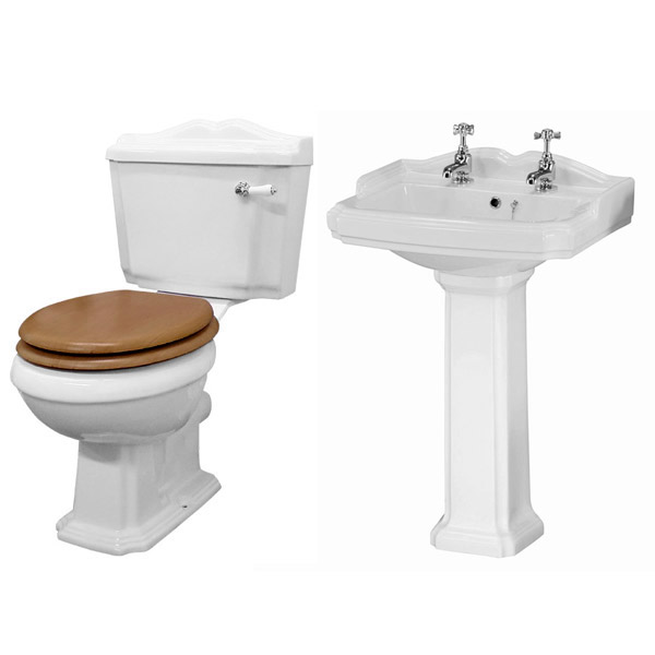 Kensington Traditional Complete Roll Top Bathroom Package (1700mm)  Profile Large Image