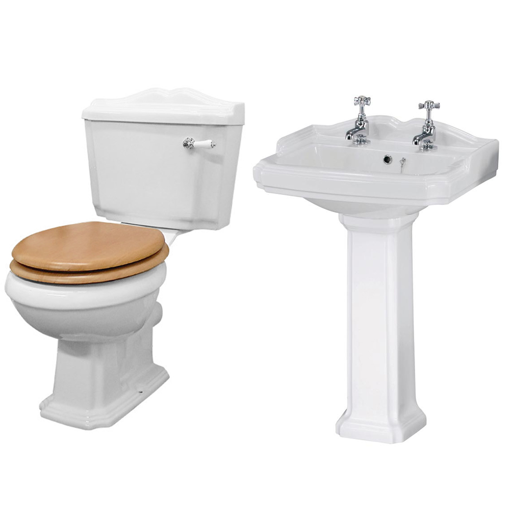 Winchester Traditional Complete Roll Top Bathroom Package (1710mm) Profile Large Image