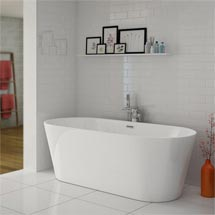Windsor Imperial 1690 x 790mm Double Ended Freestanding Bath Medium Image