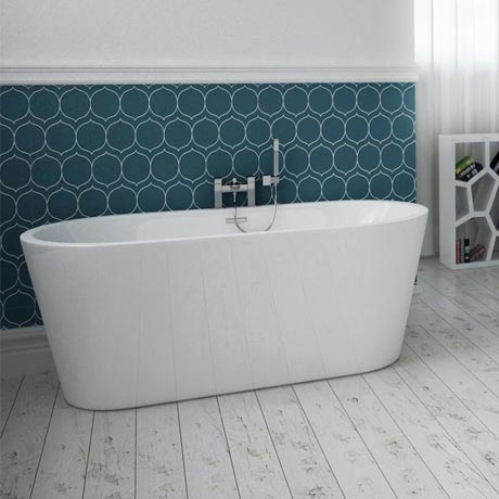 Windsor Imperial 1500 x 750mm Small Double Ended Free Standing Bath