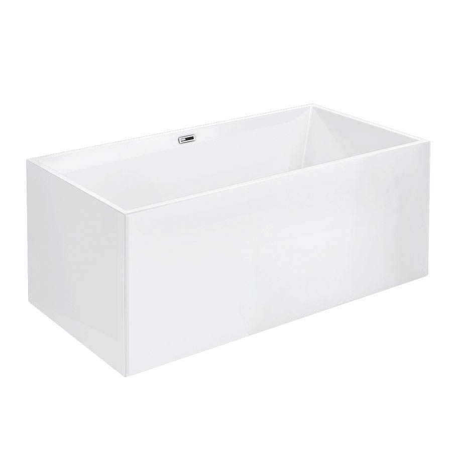 Windsor Kubic 1500 x 750mm Small Double Ended Free Standing Bath profile large image view 3