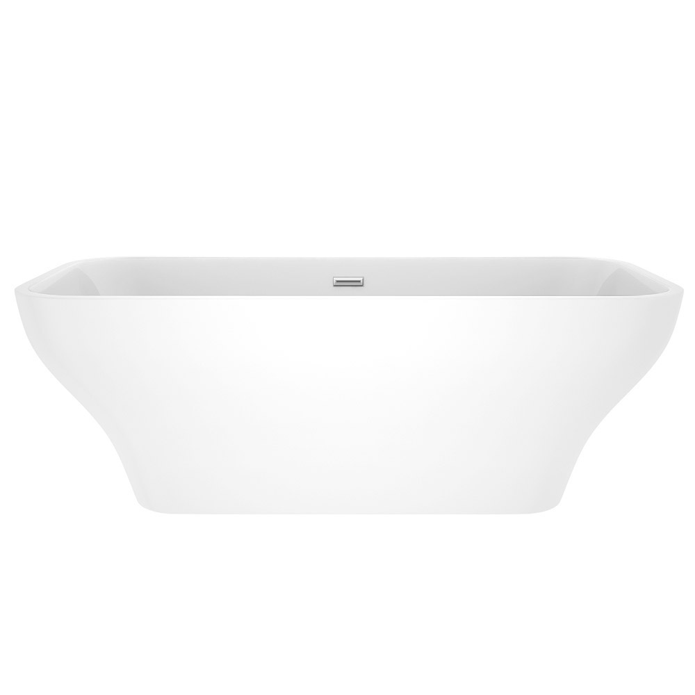 Windsor Mirage 1690 x 750mm Double Ended Freestanding Bath Profile Large Image