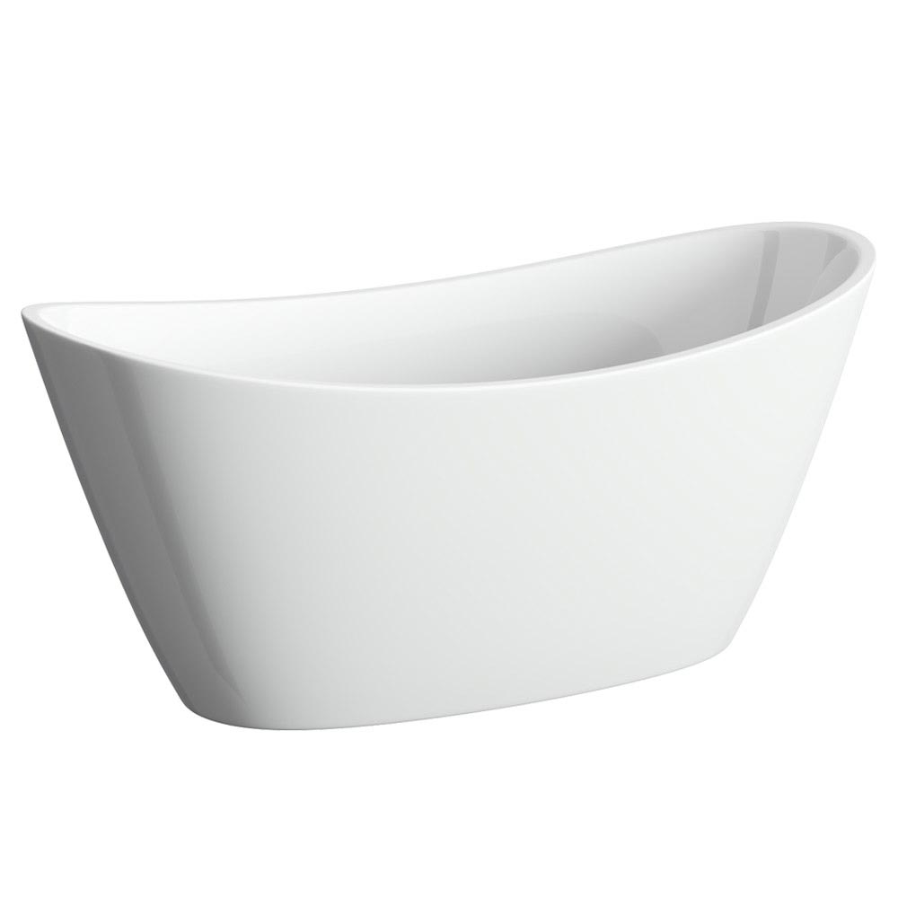 Windsor Sofia 1700 x 800mm Modern Double Ended Freestanding Bath profile large image view 2