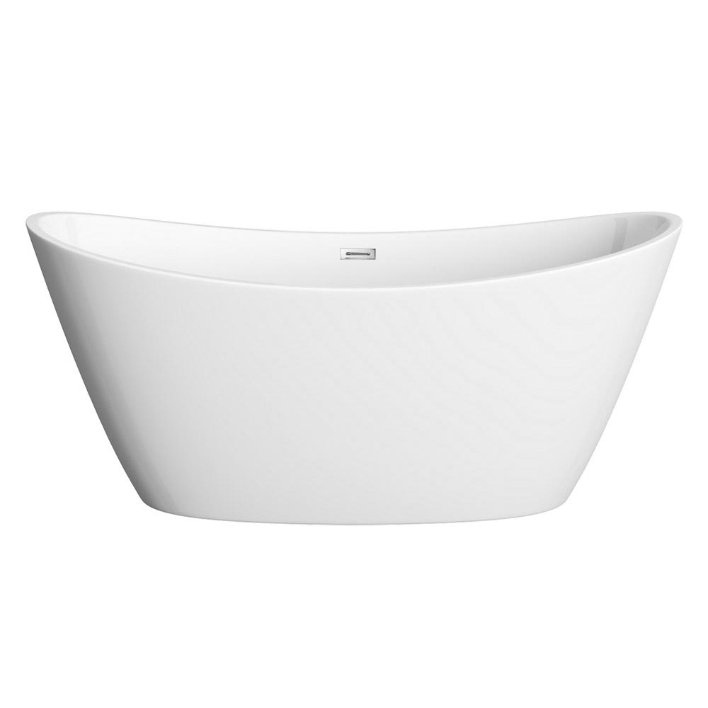 Windsor Sofia 1700 x 800mm Modern Double Ended Freestanding Bath profile large image view 3