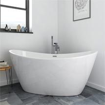 Windsor Sofia 1700 x 800mm Modern Double Ended Freestanding Bath Medium Image
