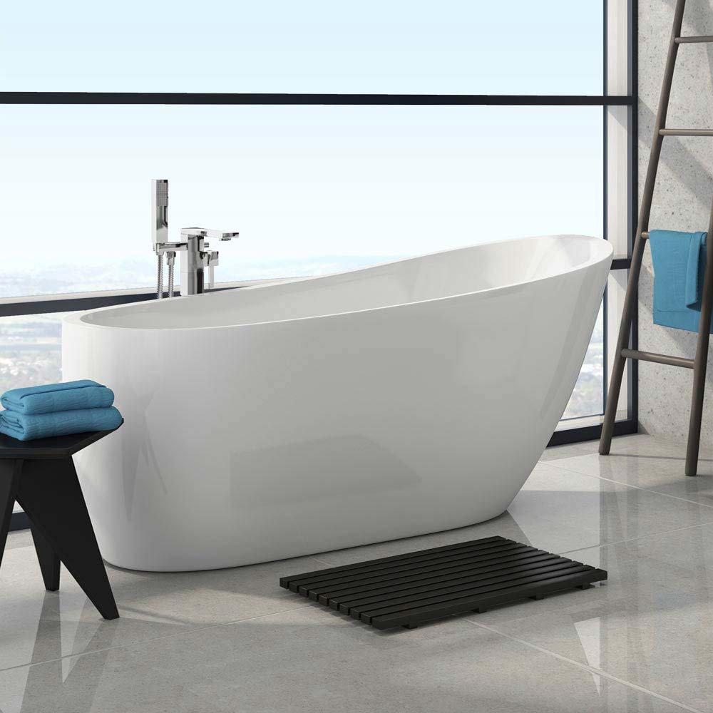 Windsor Sterling 1675 x 720mm Modern Slipper Freestanding Bath Large Image