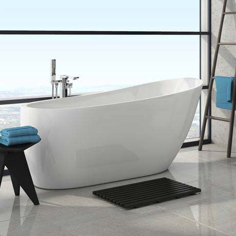Windsor Sterling 1675 x 720mm Modern Slipper Freestanding Bath