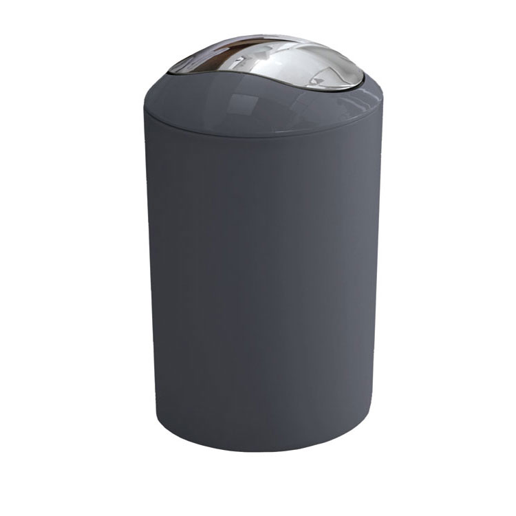 Kleine Wolke - Glossy Swing Bin - Anthracite - 5063-901-858 Large Image