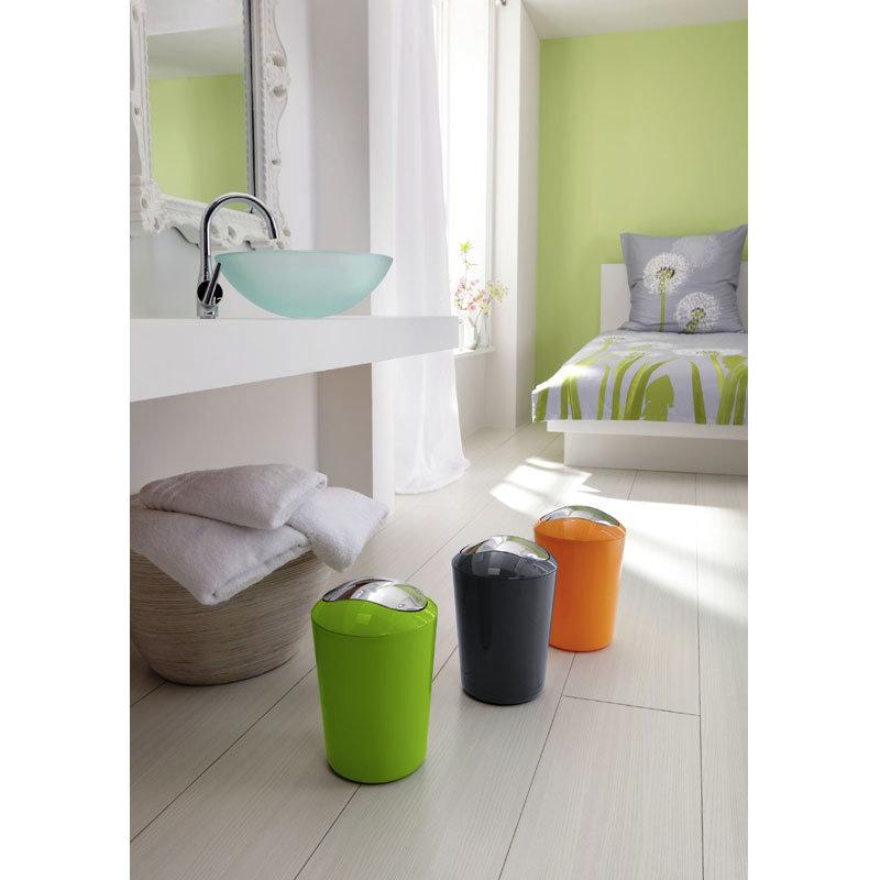 Kleine Wolke - Glossy Swing Bin - Green - 5063-625-858 Profile Large Image