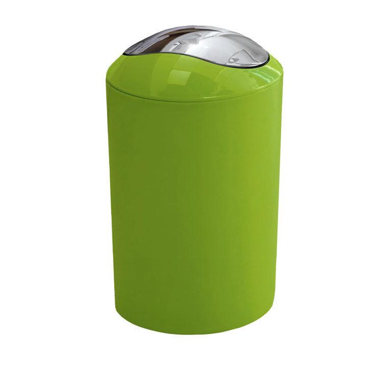 Kleine Wolke - Glossy Swing Bin - Green - 5063-625-858 Large Image