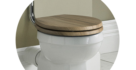 Charmant Wooden Toilet Seat