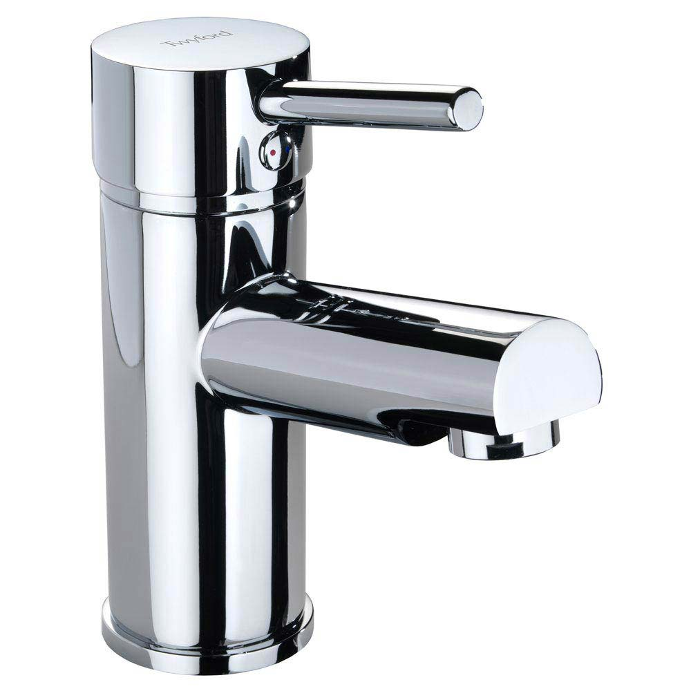 Twyford X60 Mono Basin Mixer inc. Click Clack Waste Large Image
