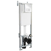 Premier Dual Flush Concealed WC Cistern with Wall Hung Frame - XTY005 Medium Image