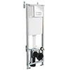 Premier Dual Flush Concealed WC Cistern with Wall Hung Frame - XTY005 Small Image