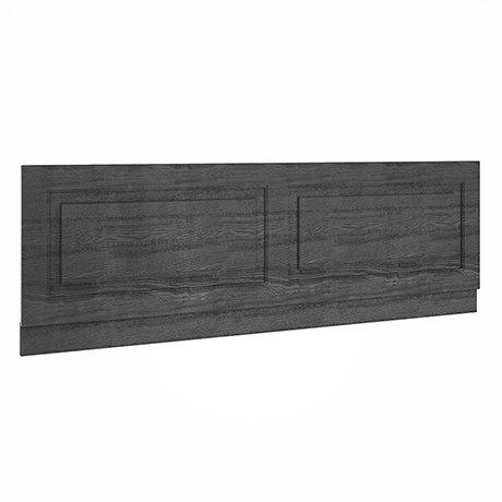 York 1700mm Dark Grey Traditional Front Bath Panel & Plinth