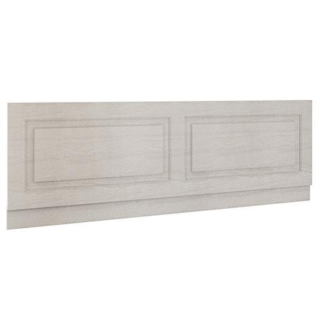 York 1800mm Grey Traditional Front Bath Panel & Plinth
