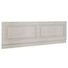 York 1800mm Grey Traditional Front Bath Panel & Plinth profile small image view 1
