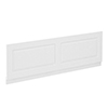 York 1800mm White Ash Traditional Front Bath Panel & Plinth profile small image view 1