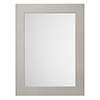 York 800 x 600mm Traditional Grey Mirror profile small image view 1