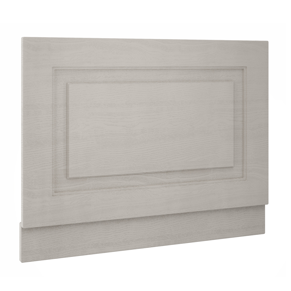 York 800mm Grey Traditional End Bath Panel & Plinth