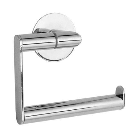 Smedbo Time Toilet Roll Holder without Lid - Polished Chrome - YK341