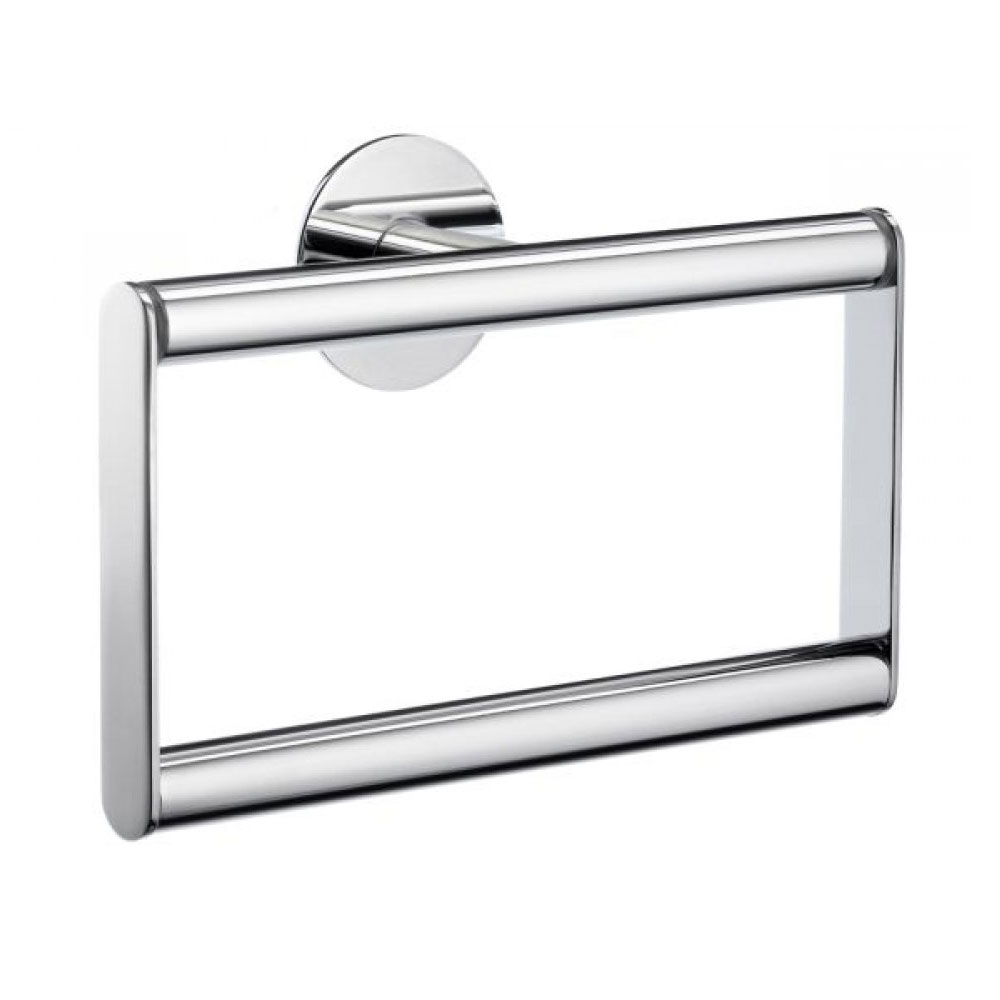 Smedbo Time Towel Ring - Polished Chrome - YK344 profile large image view 1