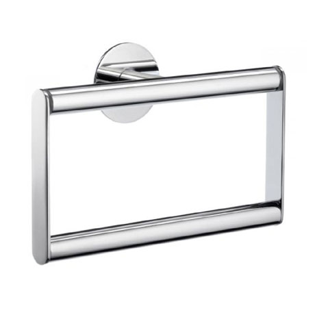 Smedbo Time Towel Ring - Polished Chrome - YK344