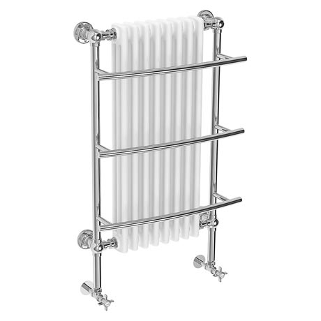 Yale Traditional Wall Hung Towel Rail Radiator (630 x 1000mm)