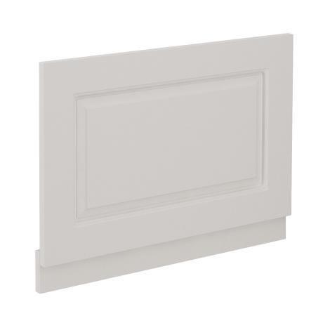 York Grey Traditional End Bath Panel & Plinth - 700mm