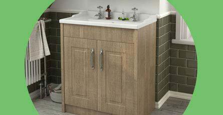 York Traditional Bathroom Furniture