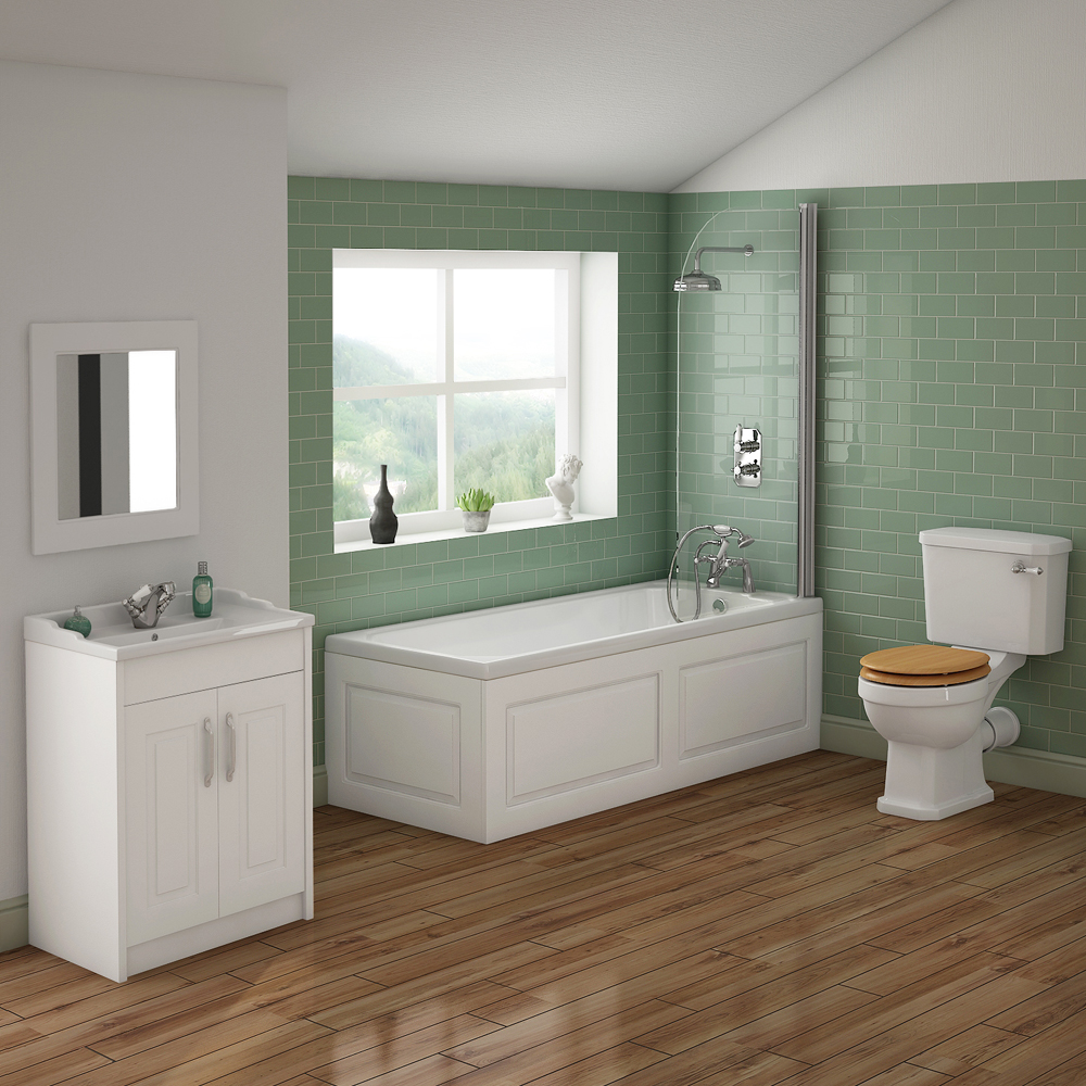 York Traditional Bathroom Suite | Now Online At Victorian ...
