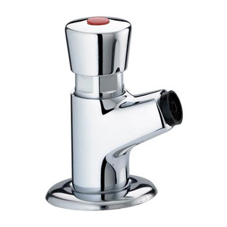 Bristan - Single Timed Flow Control Basin Tap with Flow Regulator - Z-BIB-C profile large image view 1