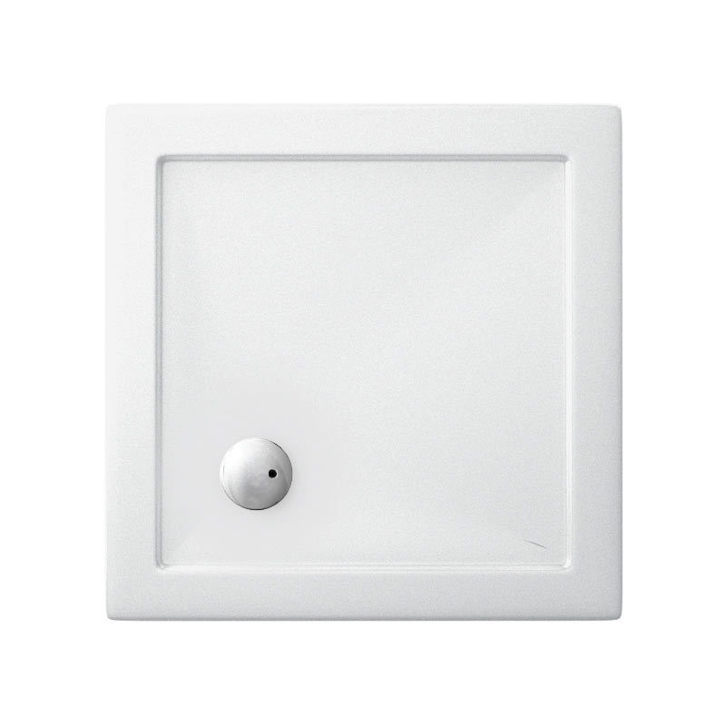 Zamori - 35mm Square Anti-Bacterial Shower Tray