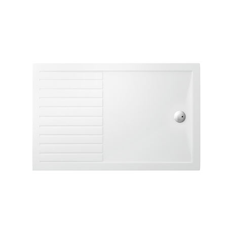 Zamori 35mm Walk In Anti-Bacterial Shower Tray - Rectangular Internal