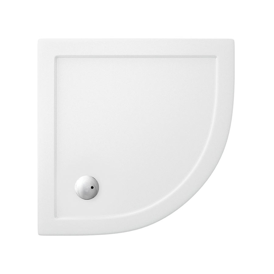 Zamori - 35mm Quadrant Anti-Bacterial Shower Tray - ZAM-QUAD
