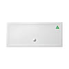 Zamori White Rectangular 35mm Anti-Bacterial Shower Tray with Anti-Slip - 1800 x 800mm profile small image view 1