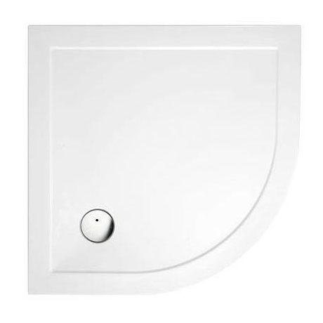 Cleargreen - 35mm Quadrant Shower Tray - Various Size Options Large Image