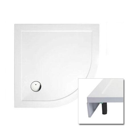 Cleargreen - 35mm Quadrant Shower Tray with Leg & Panel Set - Various Size Options
