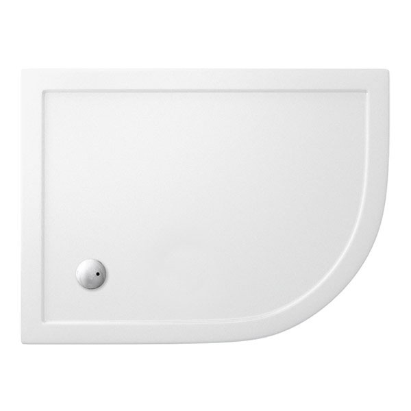 Cleargreen - 35mm Offset Quadrant Shower Tray - 900 x 1200mm - Right Hand Large Image