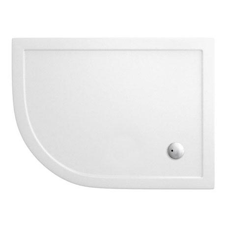 Cleargreen - 35mm Offset Quadrant Shower Tray - 900 x 1200mm - Left Hand - Z1400