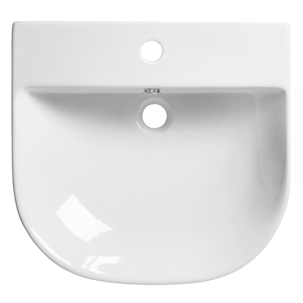 Roper Rhodes Zest 500mm Wall Mounted or Countertop Basin - Z50SB