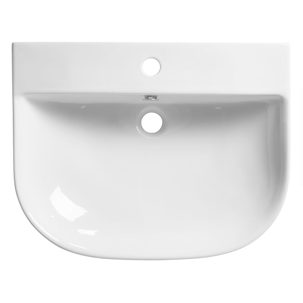 Roper Rhodes Zest 600mm Wall Mounted or Countertop Basin - Z60SB Large Image