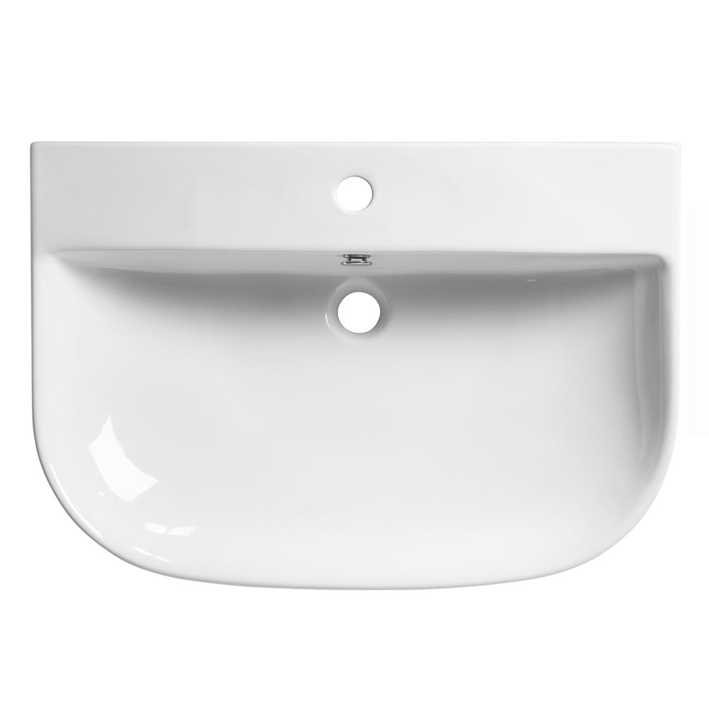 Roper Rhodes Zest 700mm Wall Mounted or Countertop Basin - Z70SB profile large image view 1