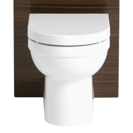 Heritage - Zaar Back to Wall WC Pan with Soft Close Seat