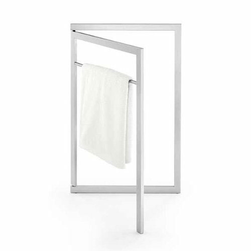 Zack - Suplio Towel Stand - Stainless Steel - 40302 profile large image view 1